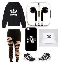 """""""Full Adida Fit"""" by love-kai-1 on Polyvore featuring adidas, PhunkeeTree and Casetify"""