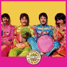 50 Years after Sgt. Pepper, The Beatles' Retro Military Jackets Continue to Inspire. As the seminal Beatles album turns 50 this month, here's a look back on the enduring allure of Swinging London's flea market chic. Beatles Bible, Beatles Albums, Abbey Road, Beatles Sgt Pepper, Lonely Heart, Movie Costumes, Ringo Starr, George Harrison, Number Two
