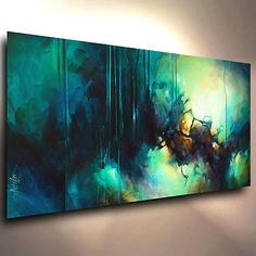 Abstract-Art-Painting-modern-Contemporary-DECOR-Michael-Lang-certified-original