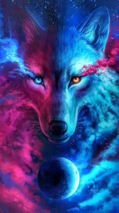 Badass Wolf Wallpapers - Awesome collection wolf wallpapers, images, pictures, backgrounds, photos - For all your devices Wallpaper Lobos, Tier Wallpaper, Wolf Wallpaper, Cute Wallpaper Backgrounds, Animal Wallpaper, Cute Wallpapers, Anime Wolf, Mythical Creatures Art, Fantasy Creatures