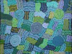 Women's body painting design - Awelye by Betty Mbitjana, cm Aboriginal Painting, Aboriginal Artists, Female Body Paintings, Paint Designs, Earth Tones, Female Bodies, Clouds, Quilts, Gallery
