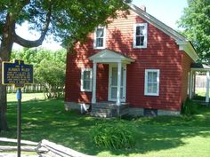 Almanzo Wilder Homestead. Farmer Boy-- tickled to finally see this !!