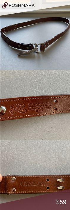 American Buffalo Homme Ceinture Réglable No 5 Cinch Boucle USA Design Unique