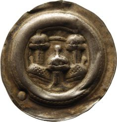 Brakteat Otto, Meissen, Markgraf (1125-1190)|Münzherr Meissen, o.J. (1156-1190) Münzkabinett Material and Technique Silber, geprägt Measurement Durchmesser: 24,7 mm, Gewicht: 0,535 g