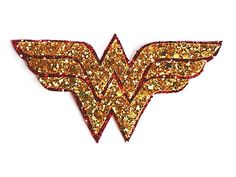 Quirky Cute Kitsch Glittery Wonder Woman Diana Inspired Hair Clip or Brooch on Etsy, $12.26