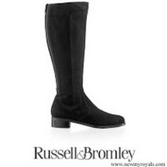 RUSSEL & BROMLEY Suede Charge Boots