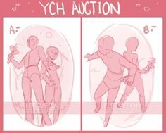 Anatomy Drawing Reference YCH - Auction (Closed) by fleesveon - Drawing Body Poses, Drawing Practice, Drawing Base, Figure Drawing, Anime Poses Reference, Poses References, Art Poses, Drawing Challenge, Drawing Techniques