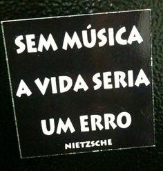 Então... com Música!