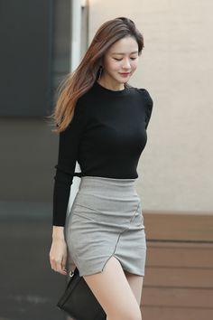 Korean Girl Fashion, Asian Fashion, Fashion Tips For Women, Womens Fashion, Petite Fashion, Diy Fashion, Spring Fashion, Looks Pinterest, Sexy Skirt