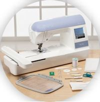 Embroidery machine tips