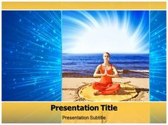 Yoga Types PowerPoint Template - Yoga Types PPT – Slide World
