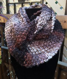 A personal favorite from my Etsy shop https://www.etsy.com/ca/listing/249098542/scarf-infinity-scarf-knit-scarf-handmade