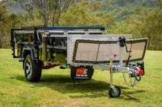 Jackson Forward Fold   MDC Camper Trailers & Off Road Caravans