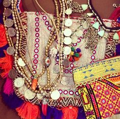 Gypsy Necklaces and Bags