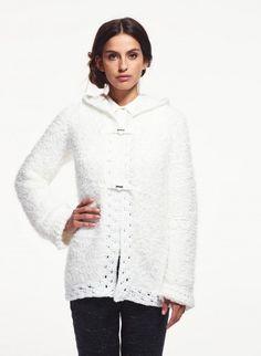Cat. 16/17 - #256 Hooded jacket   Buy, yarn, buy yarn online, online, wool, knitting, crochet   Buy Online