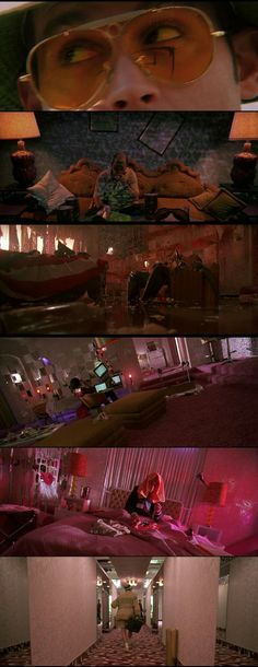 a136fd0c Fear and Loathing in Las Vegas(1998) Directed by Terry Gilliam.  #cinematography