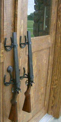 Shot gun door handles
