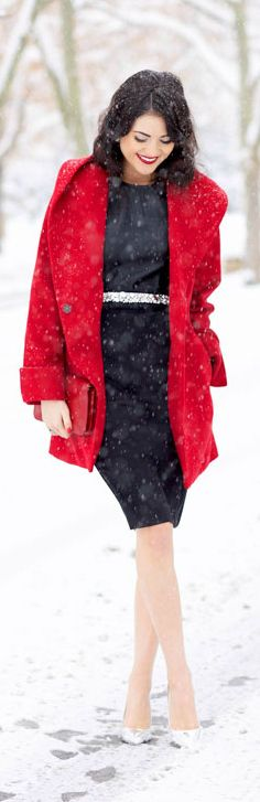 Bright Red Coat <3