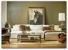 Equestrian Inspired Decor, love this print
