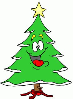Christmas Tree Clipart - Free Holiday Graphics