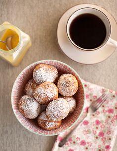 Aebleskiver~ danish pancakes. they look d'lish.