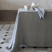 Tablecloth tiled floor jug