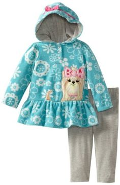 Watch Me Grow! by Sesame Street Baby-Girls Infant 2 Piece Dog Dress Hood And Legging, Aqua, 18 Months Watch Me Grow! by Sesame Street,http://www.amazon.com/dp/B00CE3I4W2/ref=cm_sw_r_pi_dp_E-bGsb1QQK99NYFY