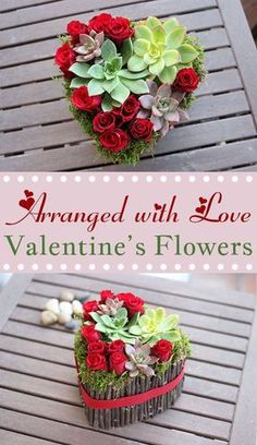 Arranged with Love: Personalized Valentine's Day Flowers.