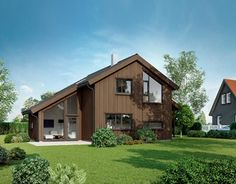 Husboken - Øster Hus Home Fashion, Shed, Outdoor Structures, Cabin, House Styles, Home Decor, Decoration Home, Room Decor, Cabins