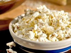 Who doesn't love cheesy popcorn? Giada uses Parmesan and Pecorino Romano in place of the neon-orange stuff.