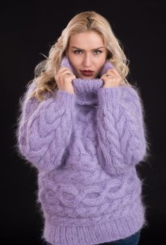7 Best Winter Handmade Mohair Sweaters images | Mohair