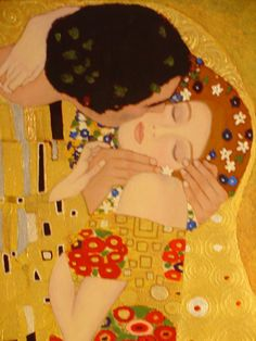 KLIMT - Details Explore the article to see the detail and craftsmanship of Gustav Klimt. Incredible !