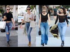 Kendall Jenner Vs Gigi Hadid Street Style 2017