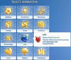 Mod The Sims - Living Life Aspiration (Custom Aspiration)