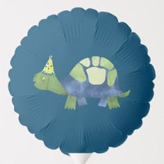 Shop Turtle Tortoise Birthday Party Balloon created by Scriptiva. Turtle Birthday Parties, Turtle Party, Photo Balloons, Balloon Shapes, Custom Balloons, Birthday Balloons, Birthday Party Decorations, Tortoise, Party Supplies
