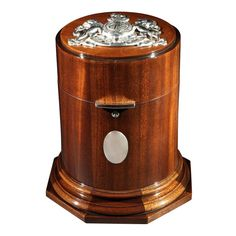 Cuban Mahogany Cigar Drum.