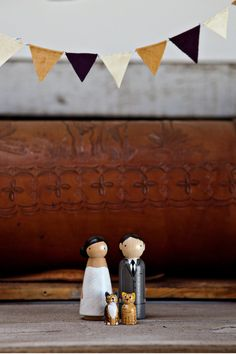 Cute Cake Toppers - Photography by jamesrubiophotogr...