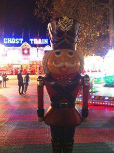 Winter Wonderland in Hyde Park.