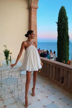 Summer Outfits Ideas Part II - Endless Legs - Summer Dress Outfits Short Summer Dresses, Cool Summer Outfits, White Dress Summer, Spring Dresses, Cute Outfits, Strappy Summer Dresses, Summer Heels, Boho Dress, Dress Up