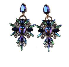 Cheap earrings jewelry, Buy Quality crystal stud earrings directly from China brand stud earrings Suppliers: Best lady New Colorful Flower Big Brand Design Luxury Starburst Pendant Crystal Stud Earrings Gem Statement Earrings Jewelry Chandelier Earrings, Crystal Earrings, Crystal Rhinestone, Statement Earrings, Women's Earrings, Crystal Drop, Black Earrings, Flower Earrings, Starburst Earrings
