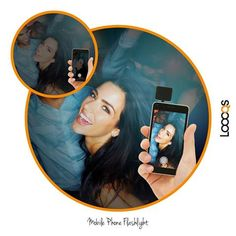 New in 2016 Loooqs Mobile phone flashlight. available at www.geminioctopus.co.za Led Flashlight, Phone, Fun, Black, Telephone, Black People, Phones, Mobile Phones, Funny