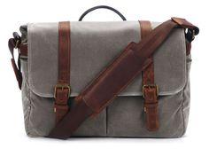 ONA Smoke Brixton Camera & Laptop Messenger Bag