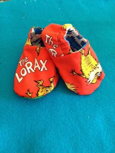 Dr Seuss The Lorax Baby Shoes