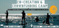 Crowdfunding Camp Adriatico Marche