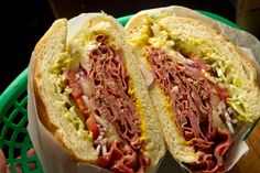 This family-run restaurant serves up the rare deli sandwich in the Mission