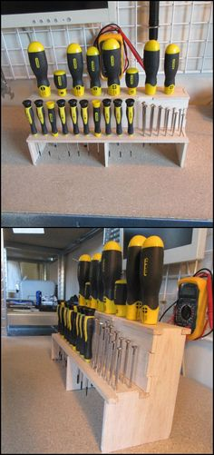 Keep Your Screwdriver Set Organized with this DIY Screwdriver Holder