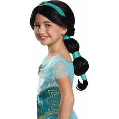 Jasmine Wig Child Halloween Accessory - Walmart.com
