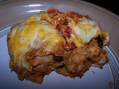 Enchilada Lasagna - Dutch Oven