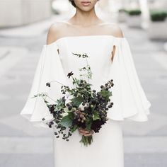 """Geraldine Magazine on Instagram: """"Bouquet of blackberries created by @nataliebdesigns in our current issue __ Photo by @jesseleake 