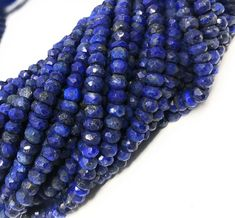 """Excited to share this item from my #etsy shop: Lapis Lazuli Gemstone Beads, Natural Gemstone Beads, Beading Supplies for Jewelry Making, Wholesale Beads, Bulk Beads, 13"""" Strand Bracelet Making, Jewelry Making Beads, Jewelry Making Supplies, Etsy Christmas, Wholesale Beads, Beading Supplies, Gemstone Beads, Natural Gemstones, Handmade Items"""